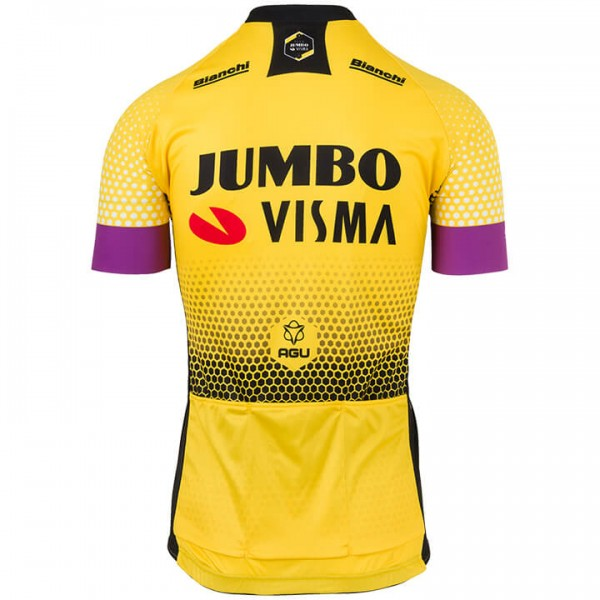 2019 TEAM JUMBO-VISMA trikot - Profi-Radsport-Team