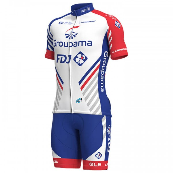 2018 Set GROUPAMA-FDJ (2 Teile) - Profi-Radsport-Team