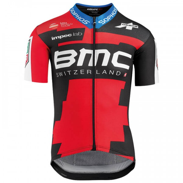2018 BMC RACING TEAM Kurzarmtrikot Pro - Profi-Radsport-Team