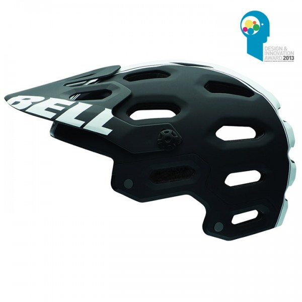 BELL MTB-Helm Super 2 matt black-white viper