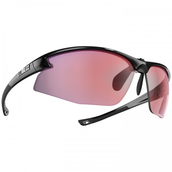 2019 BLIZ Radsportbrille Motion shiny black