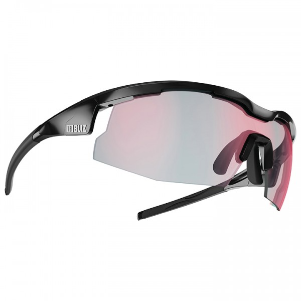 2019 BLIZ Radsportbrille Sprint Photochromic shiny black