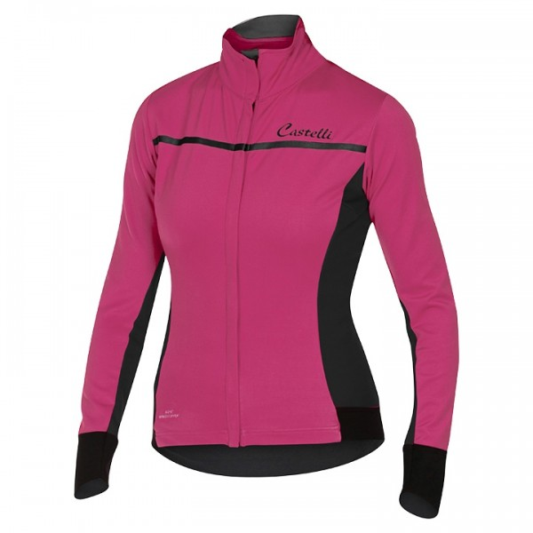 CASTELLI Light Jacket Trasparente 3 pink-anthrazit Für Damen