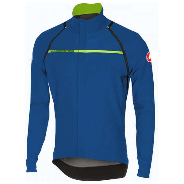 CASTELLI Kurzarm-/Light Jacket Perfetto Convertible blau Für Herren