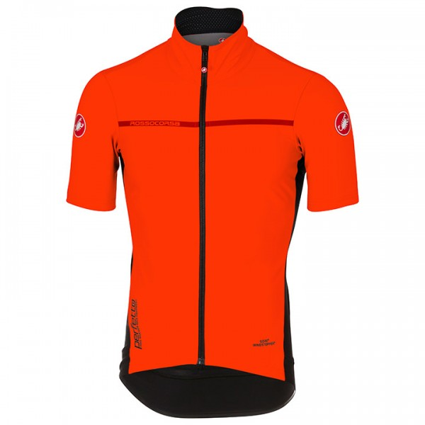CASTELLI Kurzarm-Light Jacket Perfetto Light 2 orange Für Herren