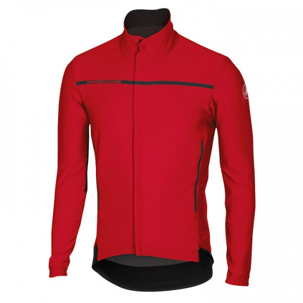 CASTELLI Light Jacket Perfetto rot Für Herren