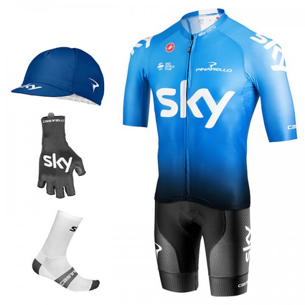 2019 Maxi-Set TEAM SKY Aero Training (5 Teile) - Profi-Radsport-Team