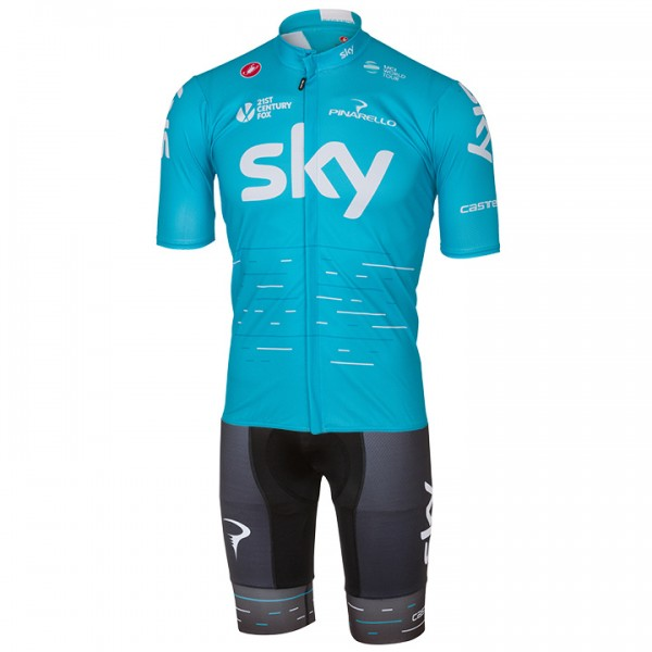2017 Set TEAM SKY (2 Teile) - Profi-Radsport-Team