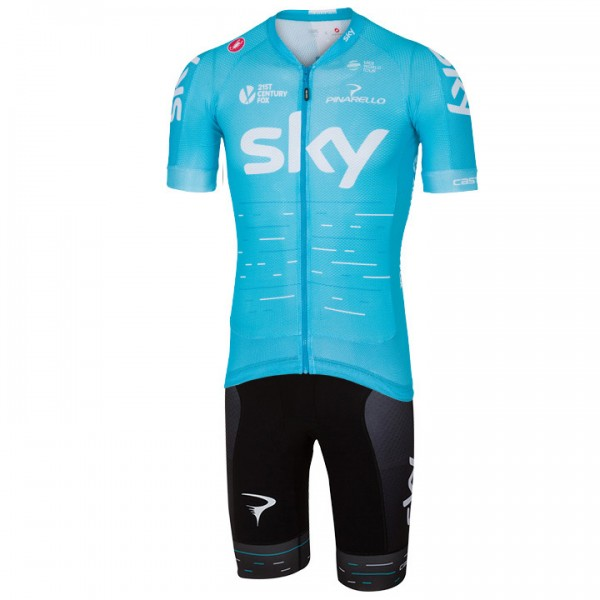 2017 Set TEAM SKY Aero (2 Teile) - Profi-Radsport-Team