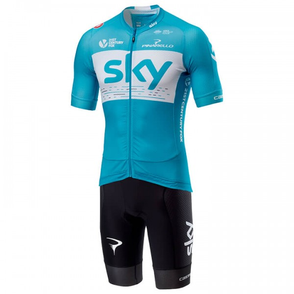 2018 Set TEAM SKY Aero Training (2 Teile) - Profi-Radsport-Team