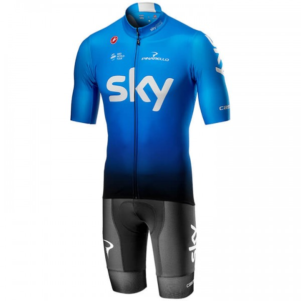 2019 Set TEAM SKY Squadra Training (2 Teile) - Profi-Radsport-Team