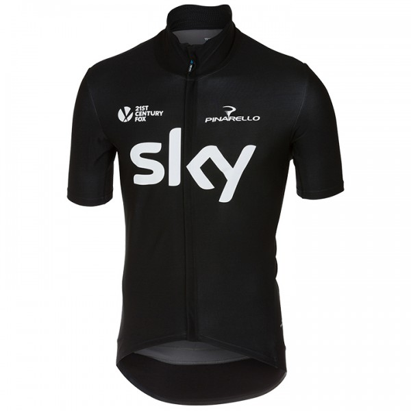 2018 TEAM SKY Kurzarm-Light Jacket Gabba 3 - Profi-Radsport-Team