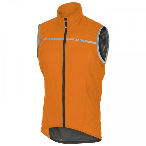 CASTELLI Windweste Superleggera orange Für Herren