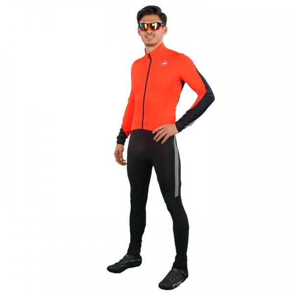 CASTELLI Winter-Body Sanremo 3 schwarz - orange Für Herren