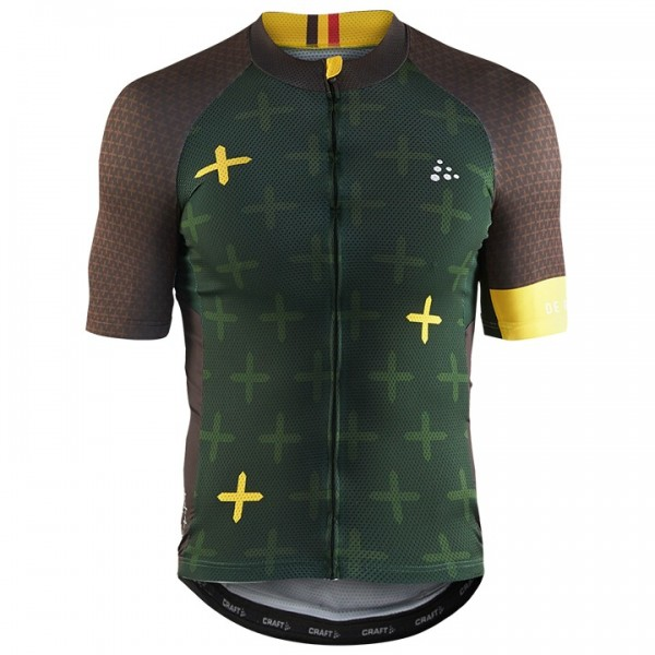 2018 CRAFT Kurzarmtrikot MONUMENTS De Ronde - Profi-Radsport-Team