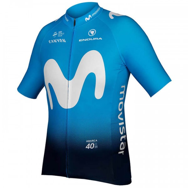 2019 MOVISTAR TEAM Kurzarmtrikot - Profi-Radsport-Team