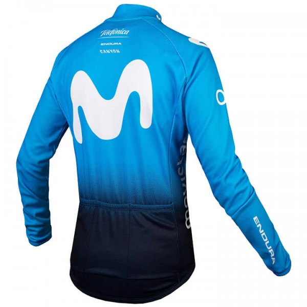 2019 MOVISTAR TEAM Langarmtrikot - Profi-Radsport-Team
