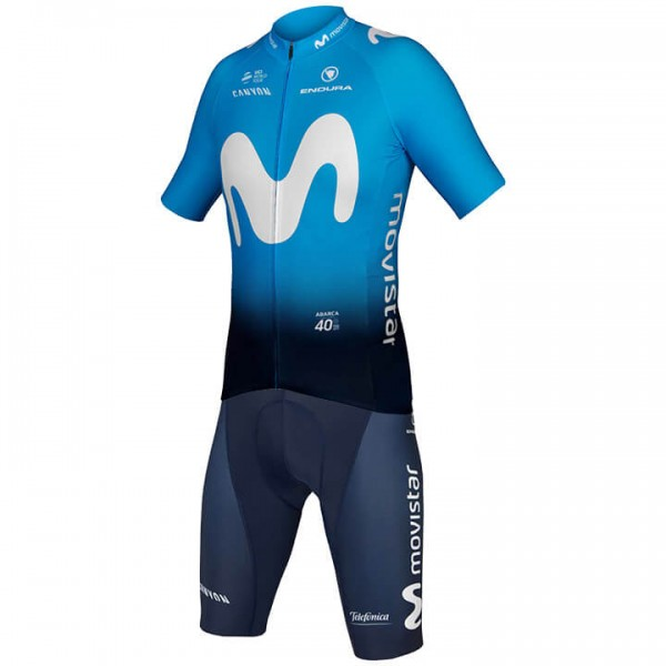 2019 Set MOVISTAR TEAM (2 Teile) - Profi-Radsport-Team