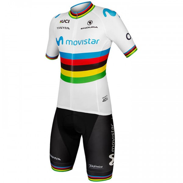 2019 Set MOVISTAR TEAM Weltmeister (2 Teile) - Profi-Radsport-Team