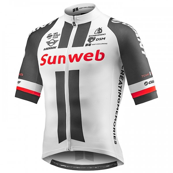 2017 TEAM SUNWEB Kurzarmtrikot Race Edition - Profi-Radsport-Team