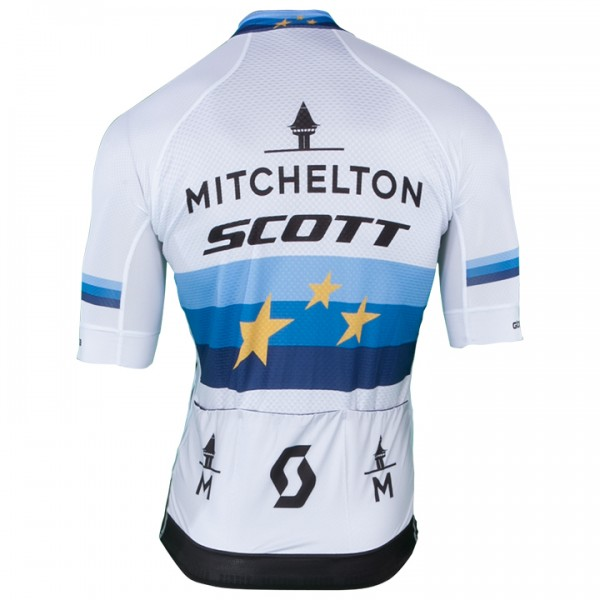 2018-2019 Set MITCHELTON - SCOTT Europameister Pro - Profi-Radsport-Team