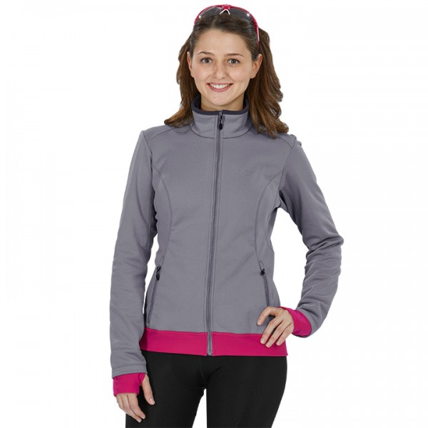 GORE Winterjacke C3 Windstopper Thermo grau - pink Für Damen