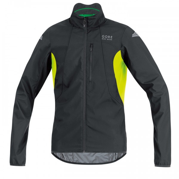 GORE Windjacke Element WS AS schw.-neongelb Für Herren