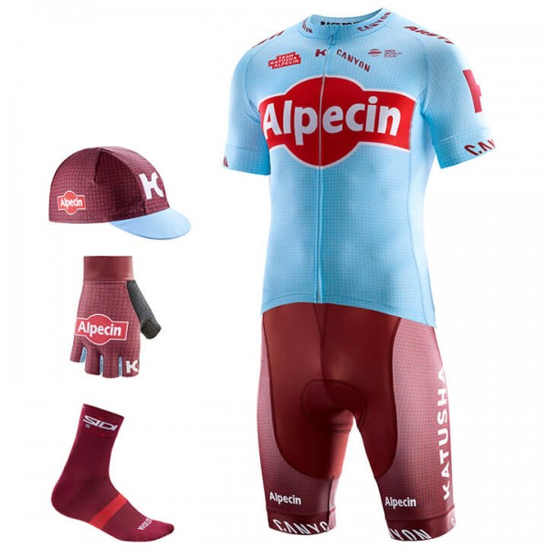2019 Maxi-Set TEAM KATUSHA ALPECIN (5 Teile) - Profi-Radsport-Team