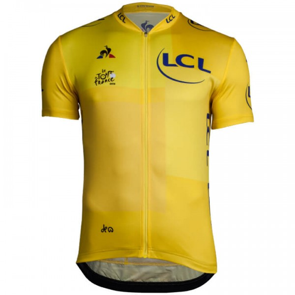 2018 Tour de France Kurzarmtrikot gelb - Profi-Radsport-Team