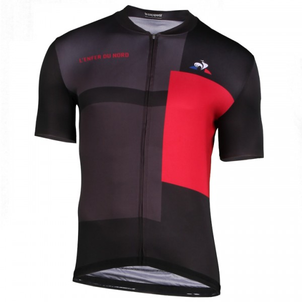 2018 Tour de France L'Enfer Du Nord Kurzarmtrikot - Profi-Radsport-Team