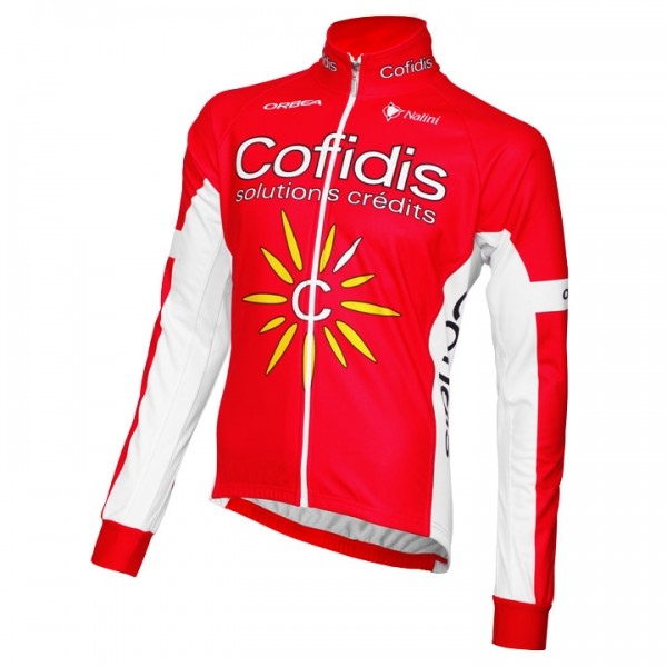 COFIDIS Winterjacke 2015 - Profi-Radsport-Team