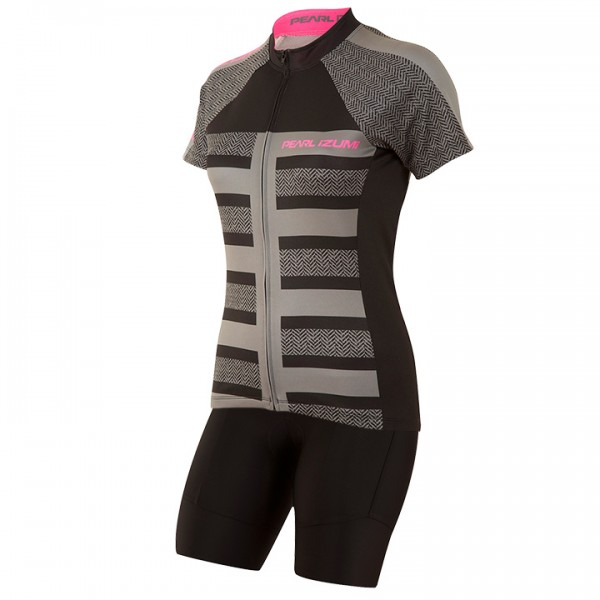 Set (2 Teile)PEARL IZUMI Select Escape LTD Focus Black Für Damen