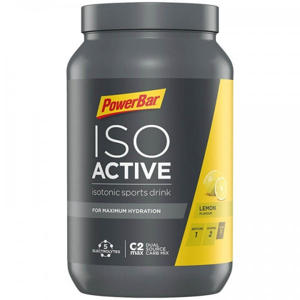 POWERBAR Isoactive Sports Drink Lemon 1320g Dose