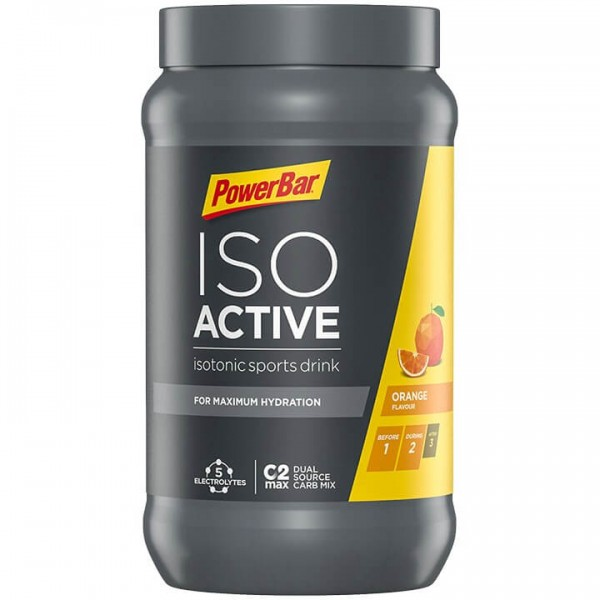 POWERBAR Isoactive Sports Drink Orange 600g Dose