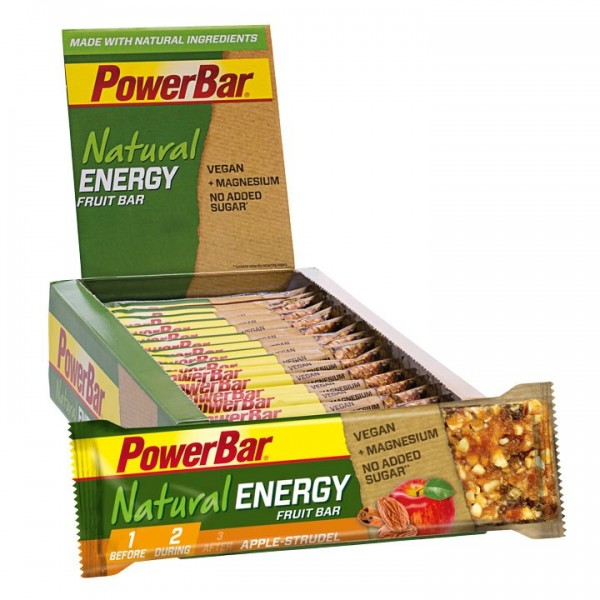 POWERBAR Natural Energy Riegel Fruit Apfelstrudel 24 Stck./K.