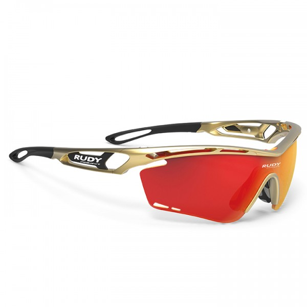 2019 RUDY PROJECT Radsportbrille Tralyx gold - Profi-Radsport-Team