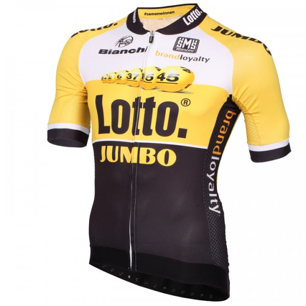 LOTTO NL-JUMBO Aero Race Kurzarmtrikot 2015 - Profi-Radsport-Team