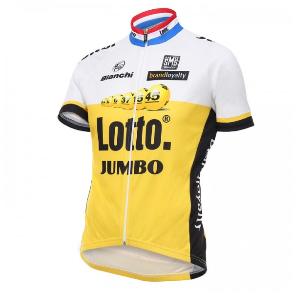 LOTTO NL-JUMBO Kurzarmtrikot 2016 - Profi-Radsport-Team