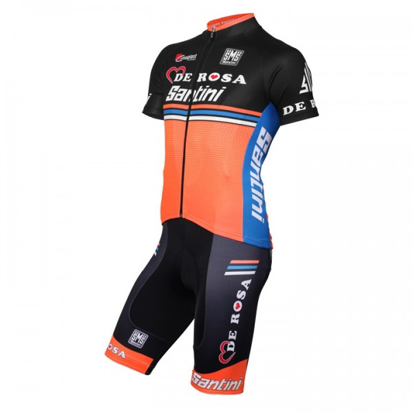 Set TEAM DE-ROSA SANTINI 2016 (2 Teile) - Profi-Radsport-Team