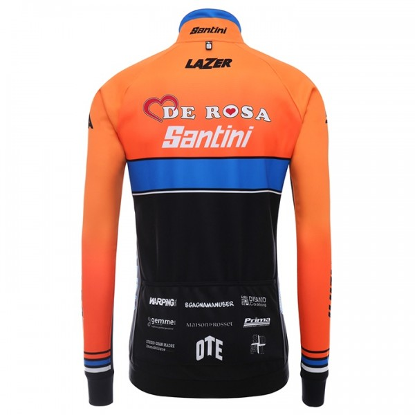 2017 Set TEAM DE-ROSA SANTINI (2 Teile) - Profi-Radsport-Team