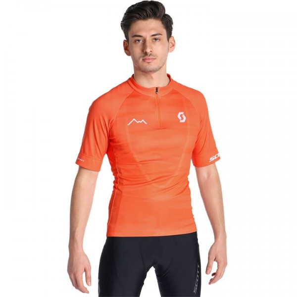 SCOTT Kurzarmtrikot Endurance 20 orange Für Herren