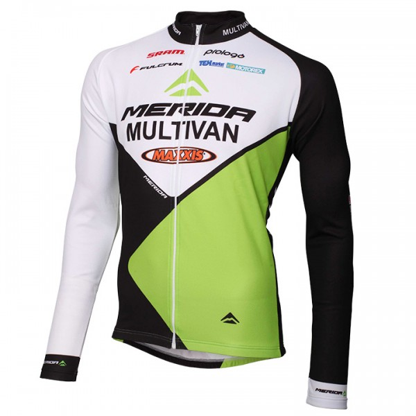 MULTIVAN MERIDA BIKING TEAM Langarmtrikot 2014 - Profi-Radsport-Team