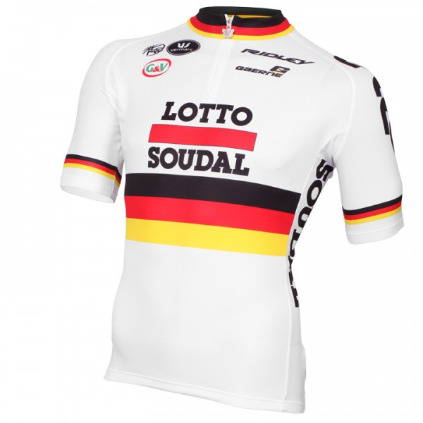 LOTTO SOUDAL Deutscher Meister Kurzarmtrikot 2015 - Profi-Radsport-Team