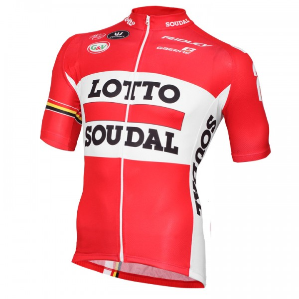LOTTO SOUDAL Kurzarmtrikot 2015 - Profi-Radsport-Team