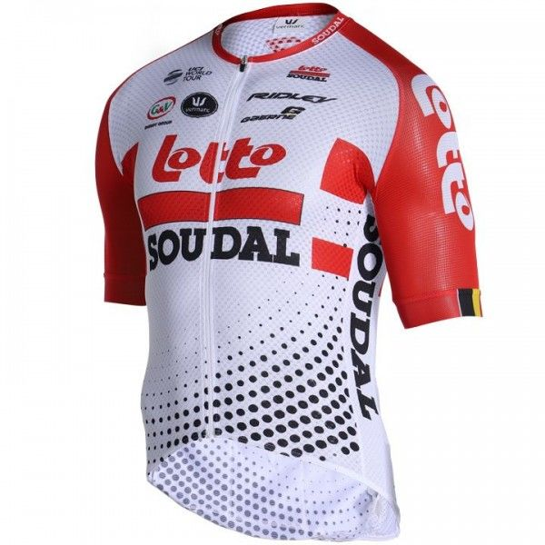 2019 LOTTO SOUDAL Kurzarmtrikot PRR Summer - Profi-Radsport-Team