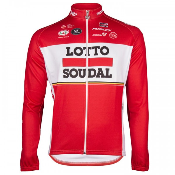 2017 LOTTO SOUDAL Langarmtrikot - Profi-Radsport-Team