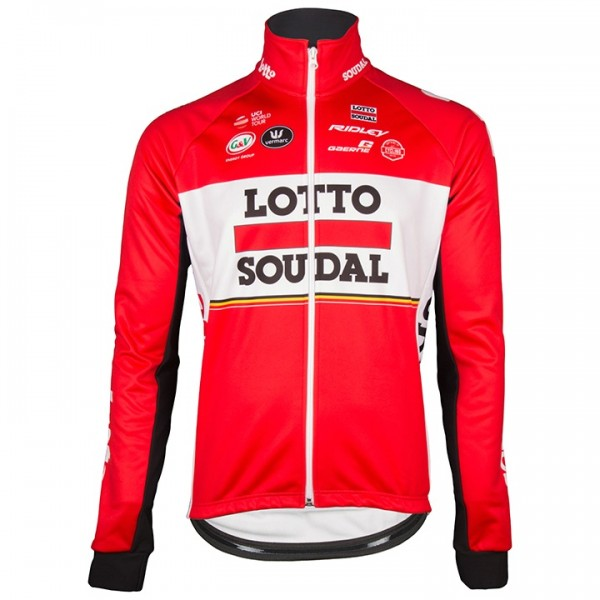 2017 LOTTO SOUDAL Winterjacke - Profi-Radsport-Team