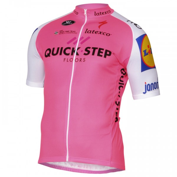 2017 QUICK - STEP FLOORS Kurzarmtrikot LTD Edition - Profi-Radsport-Team