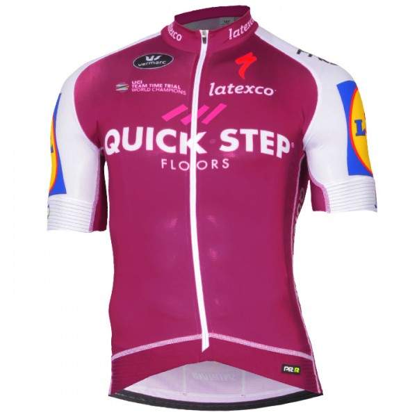 2017 QUICK - STEP FLOORS PRR Kurzarmtrikot LTD Edition - Profi-Radsport-Team