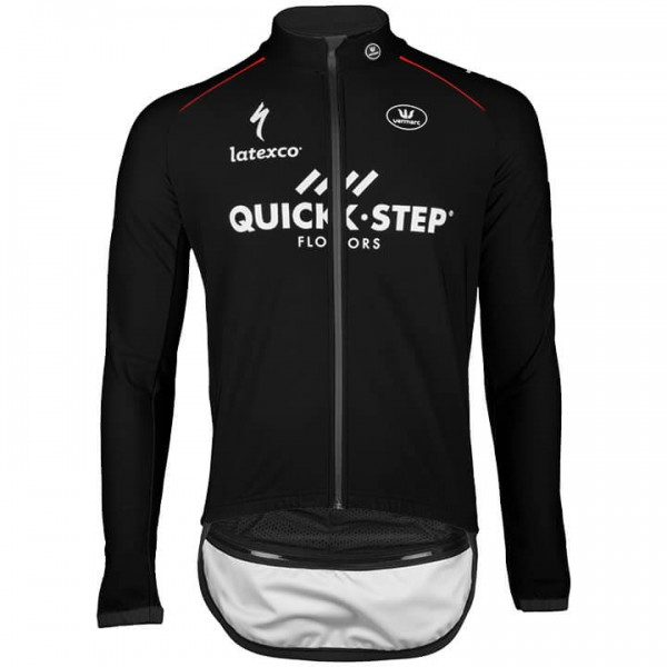 2018 QUICK - STEP FLOORS Zero Aqua Light Jacket - Profi-Radsport-Team